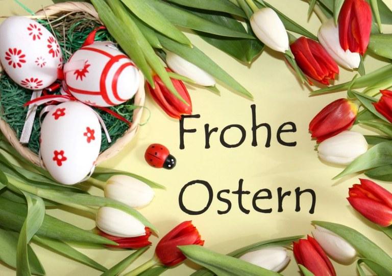 Osterbrief aus dem Pauline-Fischer-Haus an unsere Angehörigen