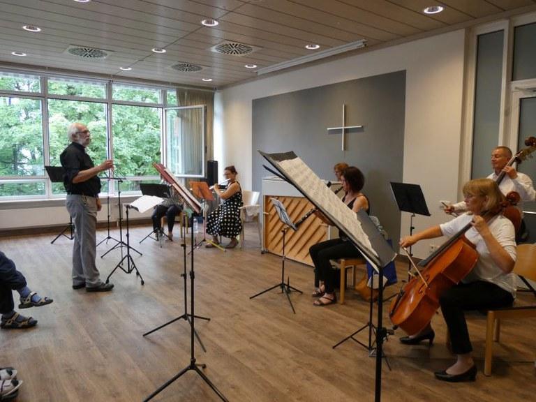 Salonkonzert am Sonntag – ein musikalisches Highlight für unsere Bewohner*innen